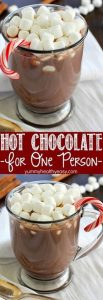 One Person Hot Chocolate