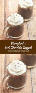 Disneyland Hot Chocolate